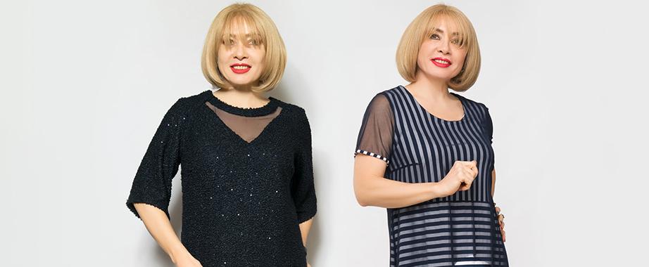 Коллекция женственных нарядов больших размеров