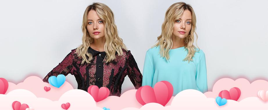 Снижение цен на коллекцию одежды для ярких девушек