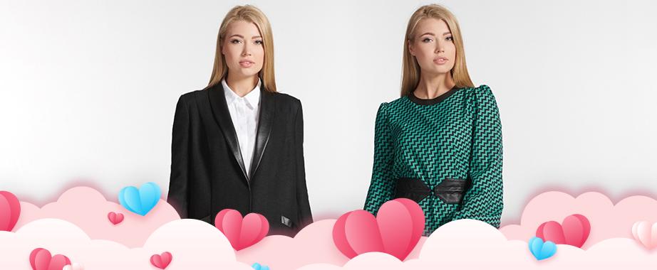 Праздничные скидки ко Дню Влюбленных на коллекцию стильной одежды украинского бренда