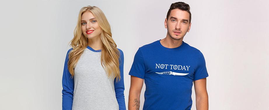 Скидки на новую коллекцию футболок, кепок и свитшотов для неё и для него