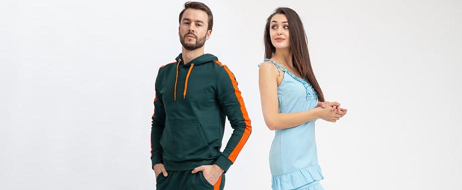 Суперцены на трендовую женскую и мужскую одежду