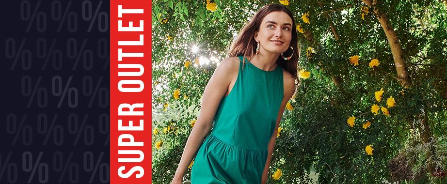 Распродажа яркой одежды любимого европейского бренда
