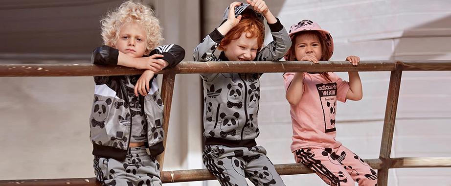 Стильный casual для детей от итальянского бренда