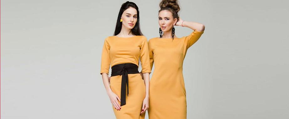 Распродажа коллекций женственной одежды украинского дизайнера