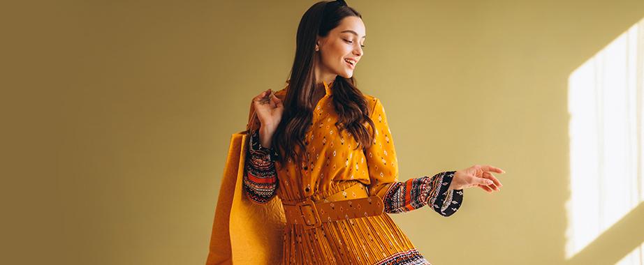 Стильные женственные платья по лучшим ценам