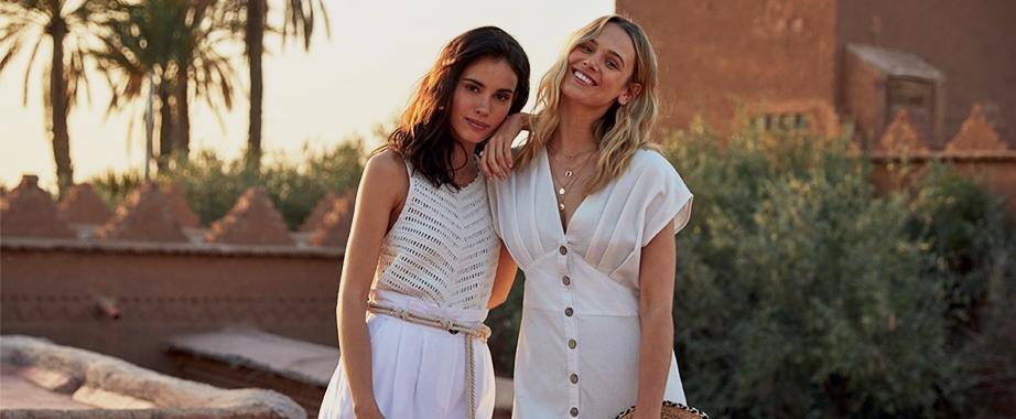 Распродажа коллекций яркой одежды любимого европейского бренда