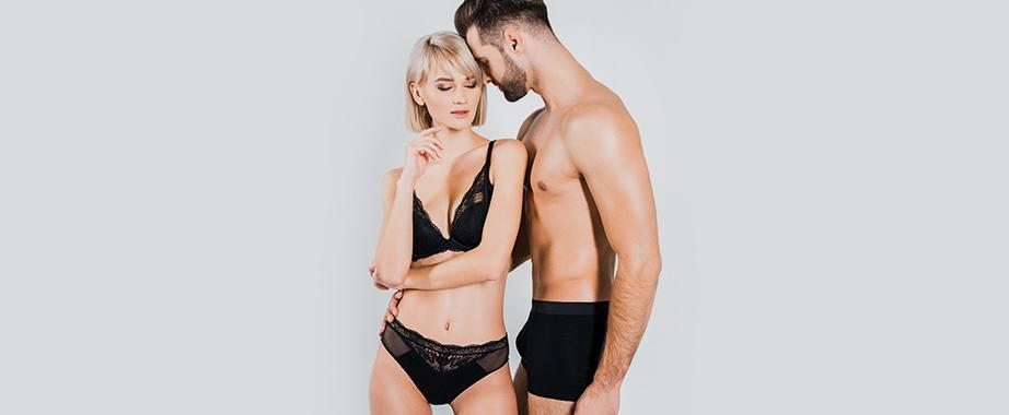 Большой выбор стильных и удобных комплектов нижнего белья