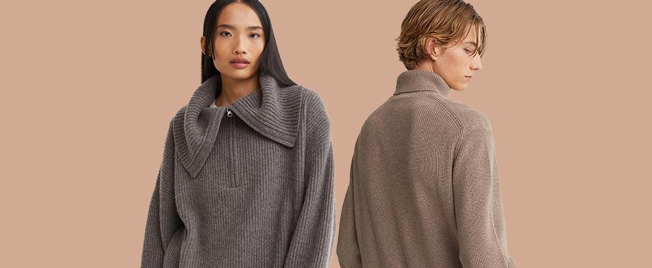 Теплые и уютные свитера и кардиганы шведского бренда