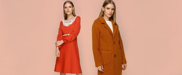 Обнови свой лук: стильные платья, пальто, кофты и блузы