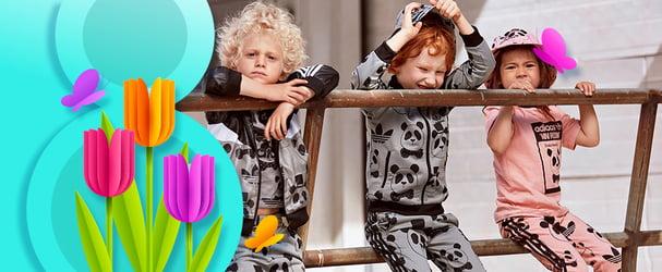 Мегазнижки на брендовий спортивний одяг та взуття для діток Adidas 2220fc7a55234