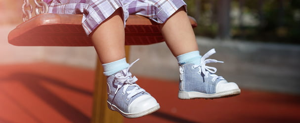 Скидки на удобную обувь для деток