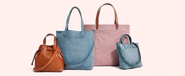 Скидки на сумки, бумажники и аксессуары