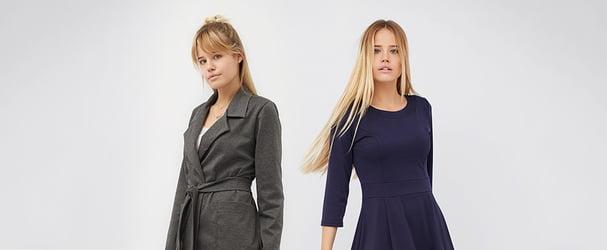 6c9acddb215f15 Знижки на елегантні сукні, костюми, брюки від 42 до 56 розміру BesTia
