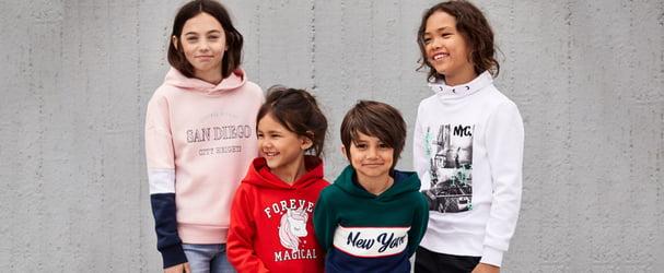 Распродажа детской одежды популярного скандинавского бренда