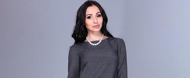 Останні розміри елегантного жіночого вбрання