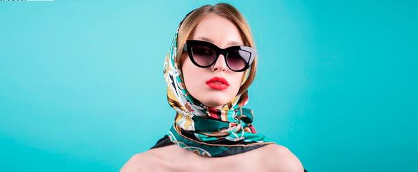 Нове надходження весняних аксесуарів: шалі, окуляри, хустки, сумки