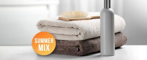 Махровые полотенца и пляжные покрывала по доступным ценам