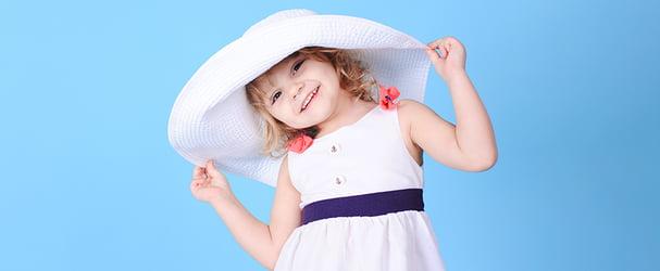 Летние головные уборы для маленьких модниц и модников