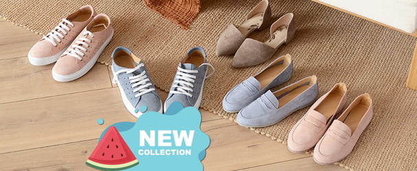 Новое поступление стильной обуви: балетки, кеды и многое другое