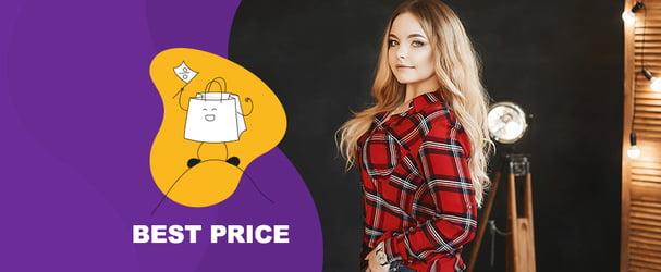 Распродажа одежды больших размеров с быстрой доставкой