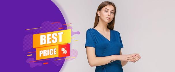 Распродажа стильных нарядов эксклюзивных брендов по себестоимости