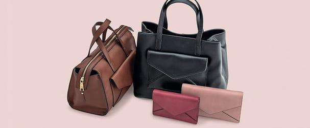 Распродажа коллекции итальянских кожаных сумок и кошельков
