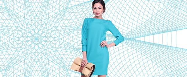 Розпродаж останніх розмірів красивих жіночих нарядів на осінній сезон