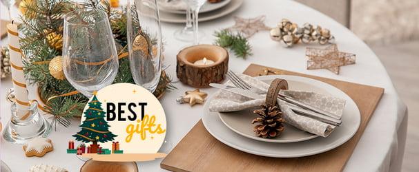 Искусство качественной сервировки стола: бокалы, тарелки, столовые приборы, блюда, скатерти, соусники, сервизы