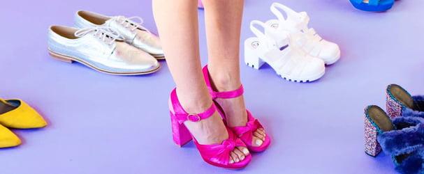 Суперраспродажа яркой и стильной обуви по суперценам