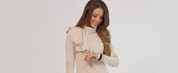 Новая коллекция платьев, туник и блуз по отличным ценам