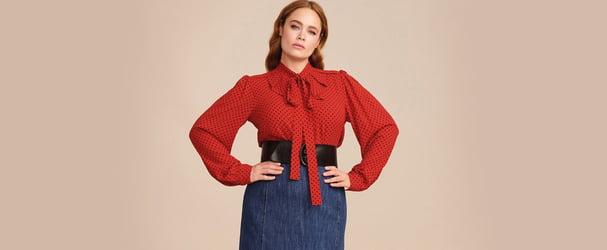 Красочные бренды женской одежды больших размеров