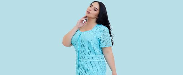Распродажа коллекций женской одежды больших размеров от 44 до 62