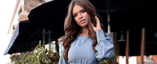 Яркие коллекции женской одежды больших размеров