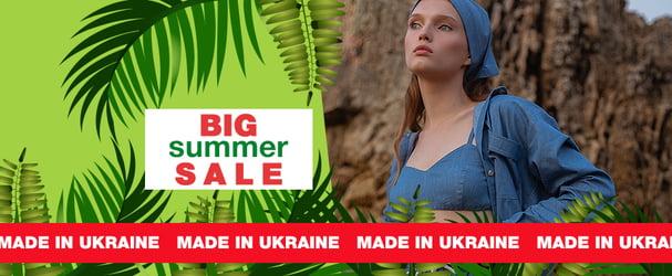 Коллекция модных платьев, блуз, аксессуаров  украинского дизайнера