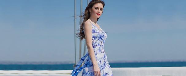 Трендовий жіночий одяг: сукні, блузи, сорочки