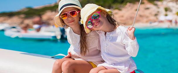 Летние панамки и кепки для маленьких модников