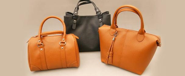 Стильные кожаные сумки и кошельки по приятным ценам