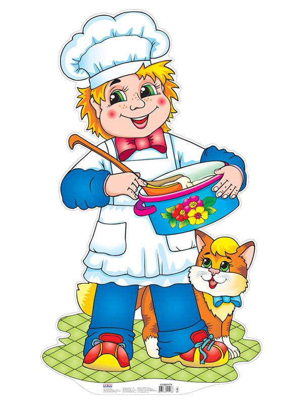 Детские картинки изображением повара
