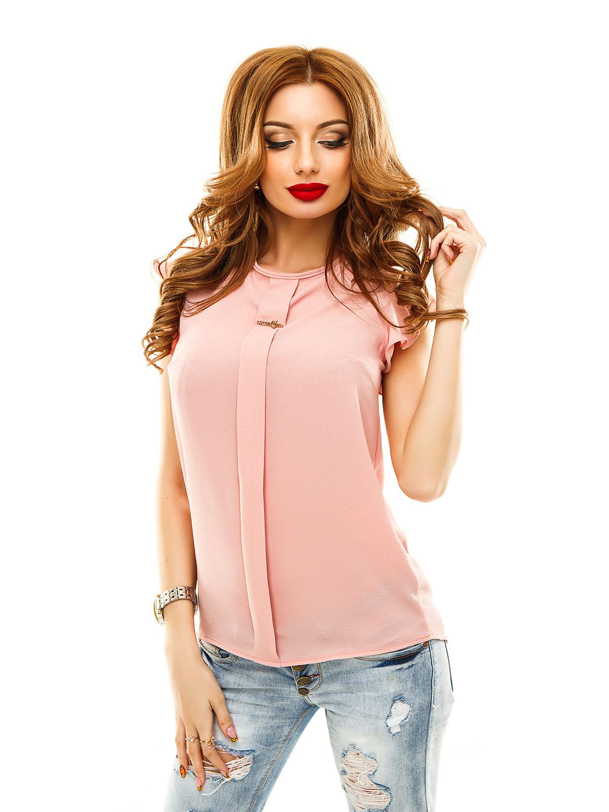 Розовая блузка с чем носить фото