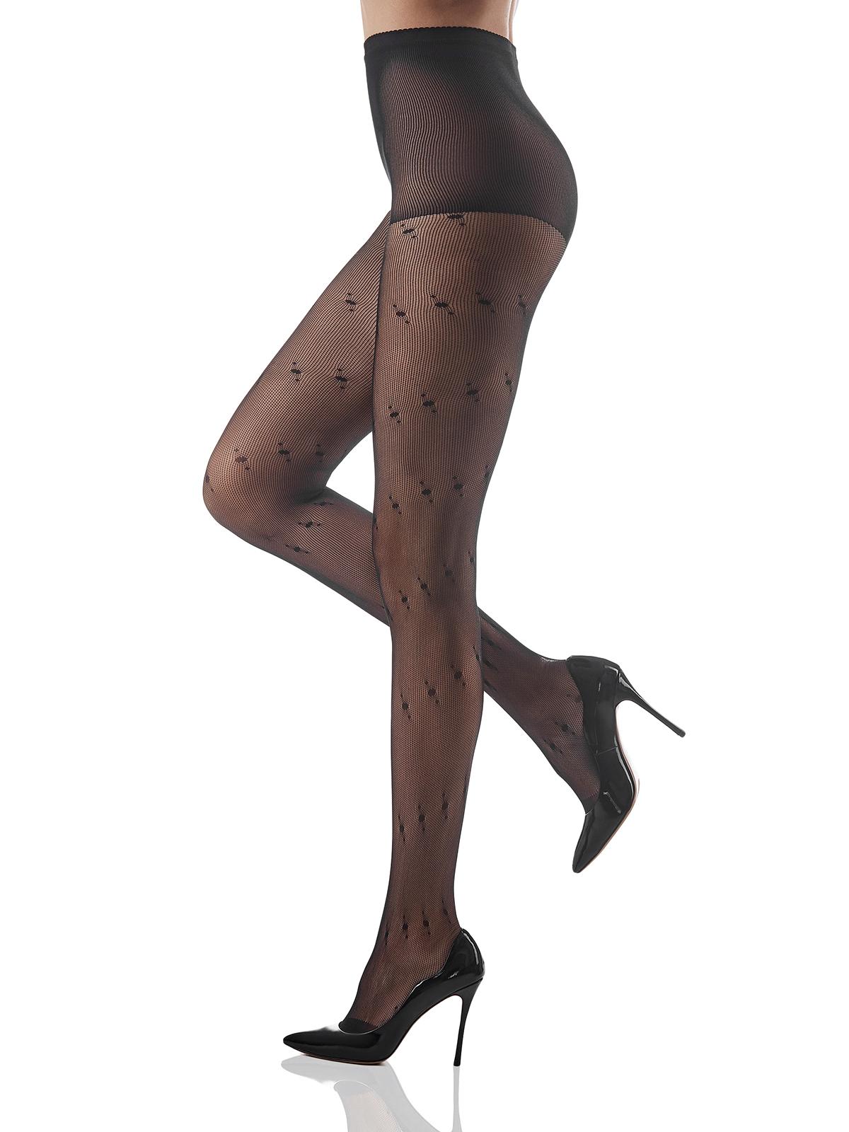 Canaria seamless black pantyhose sex