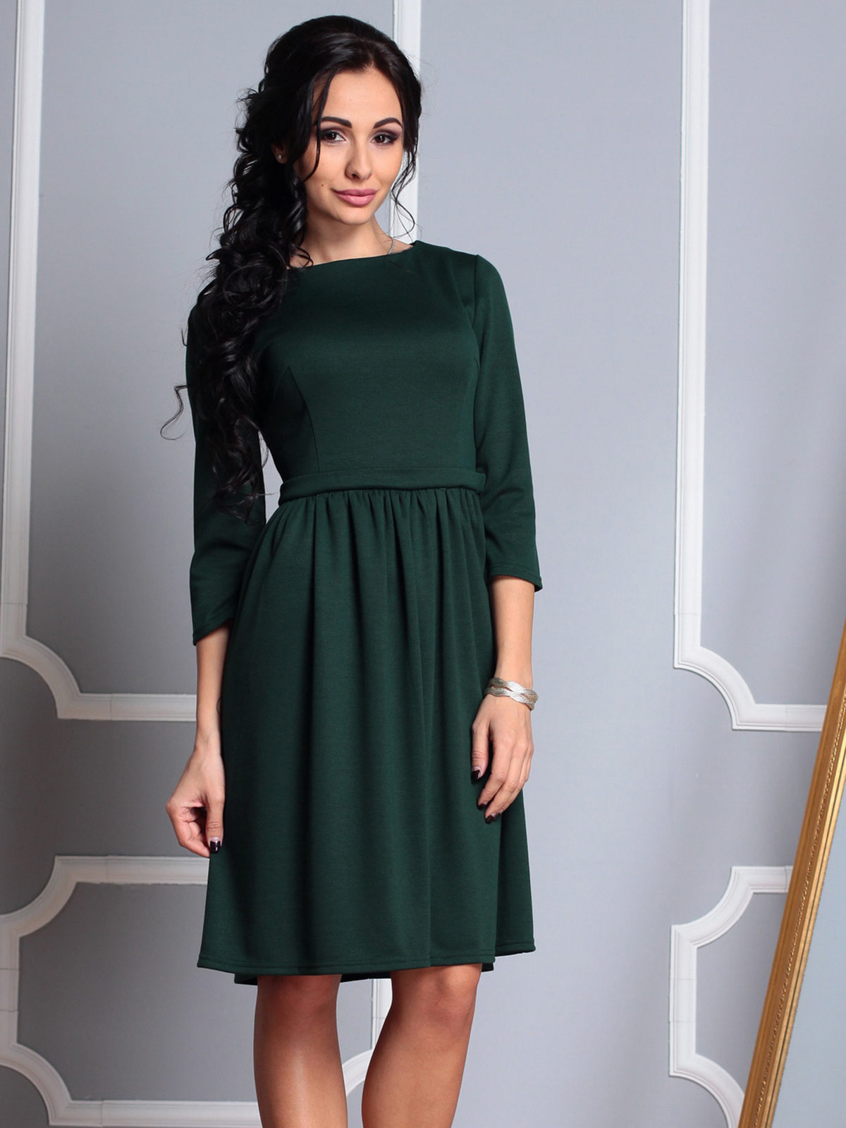 Красивое платье до колена картинки