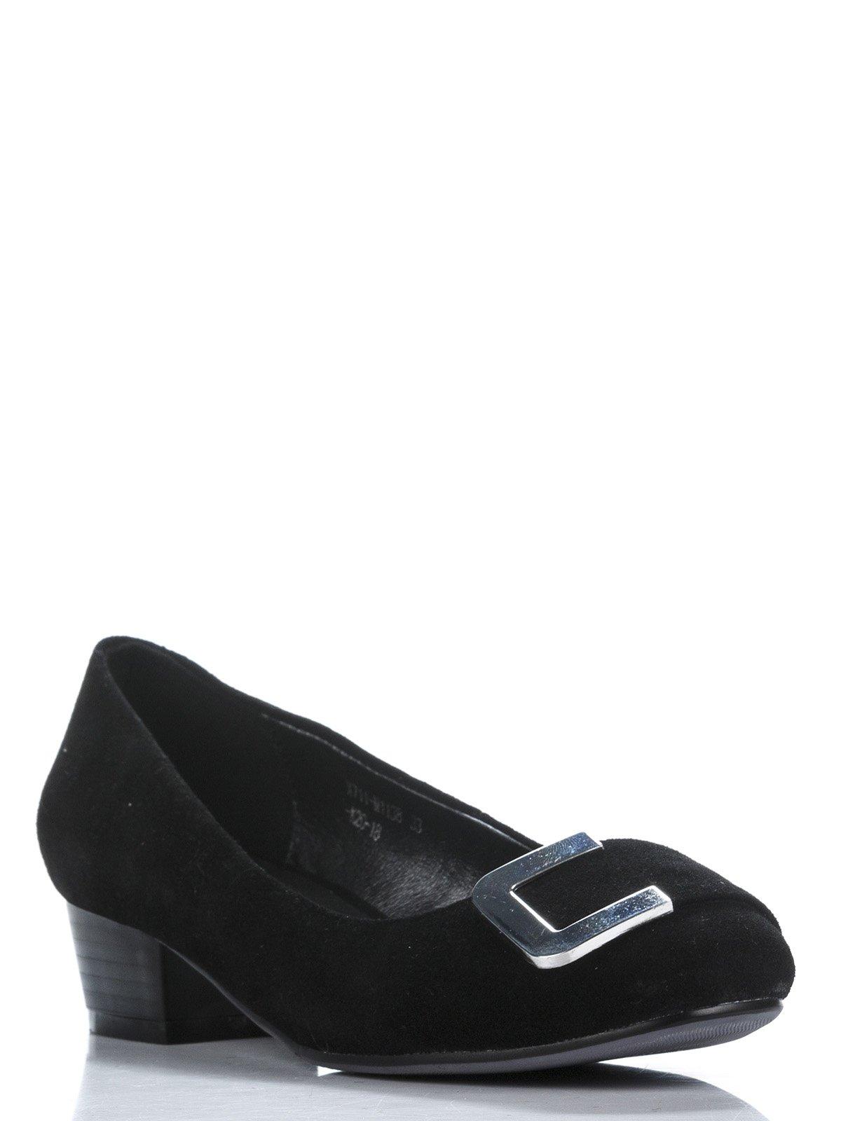 Туфли черные с декором | 907058