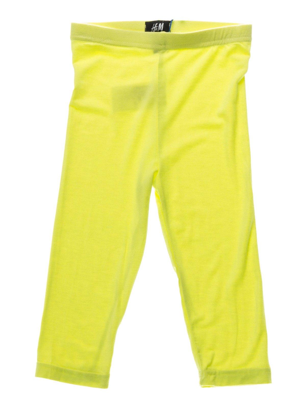 Велосипедки лимонного цвета | 933805