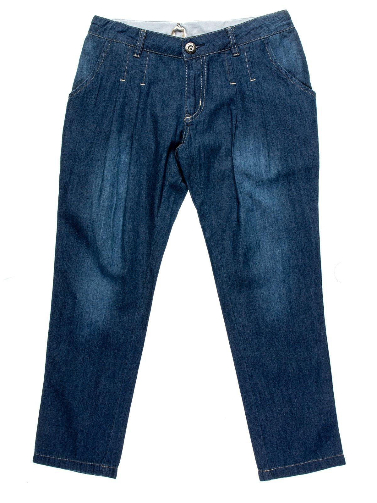 Капрі сині джинсові | 958907