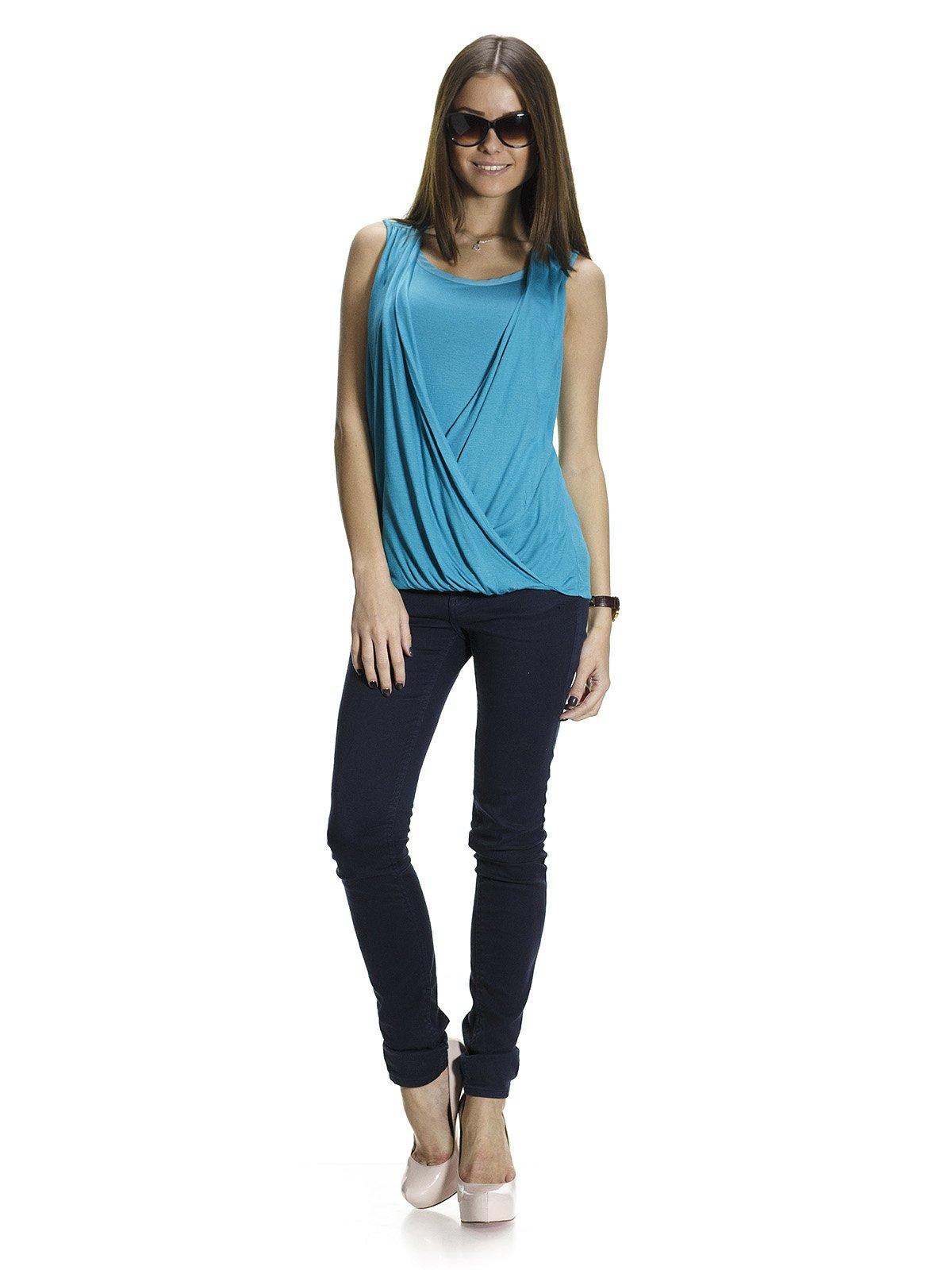 Блуза бирюзовая | 1015553
