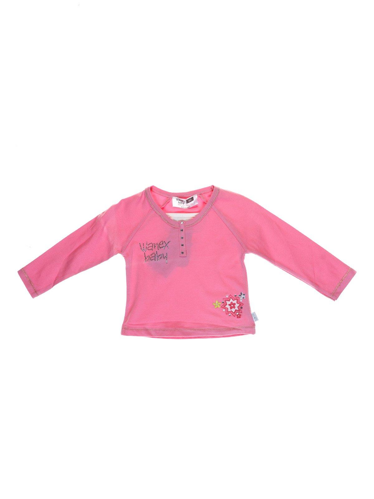 Реглан рожевий з вишивкою | 1051435
