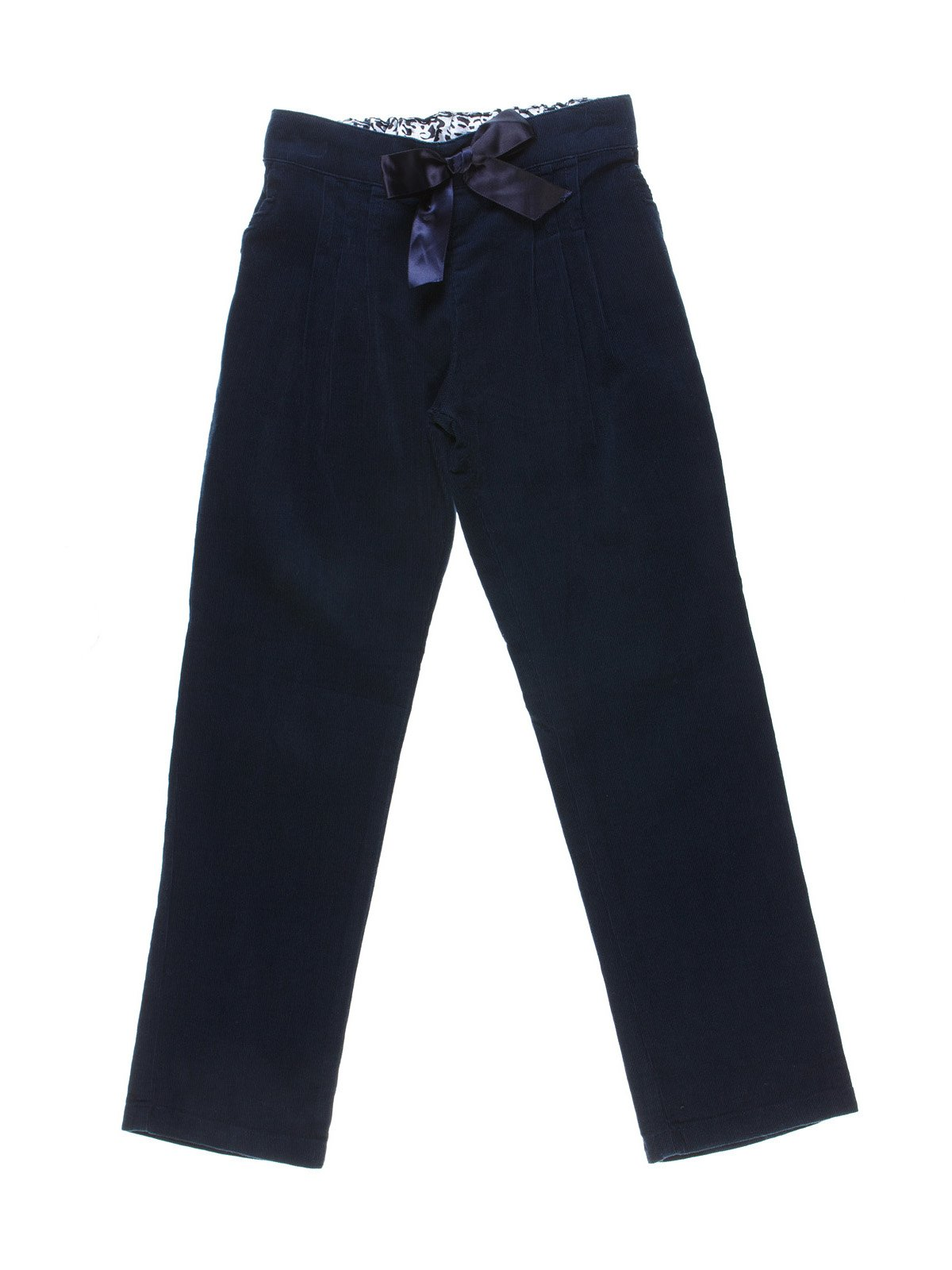 Штани темно-сині вельветові | 1231967