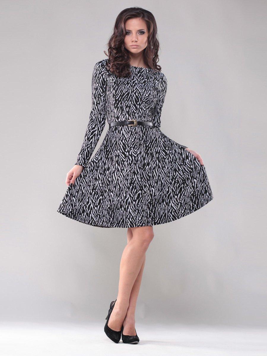 Сукня абстрактного забарвлення | 1300390