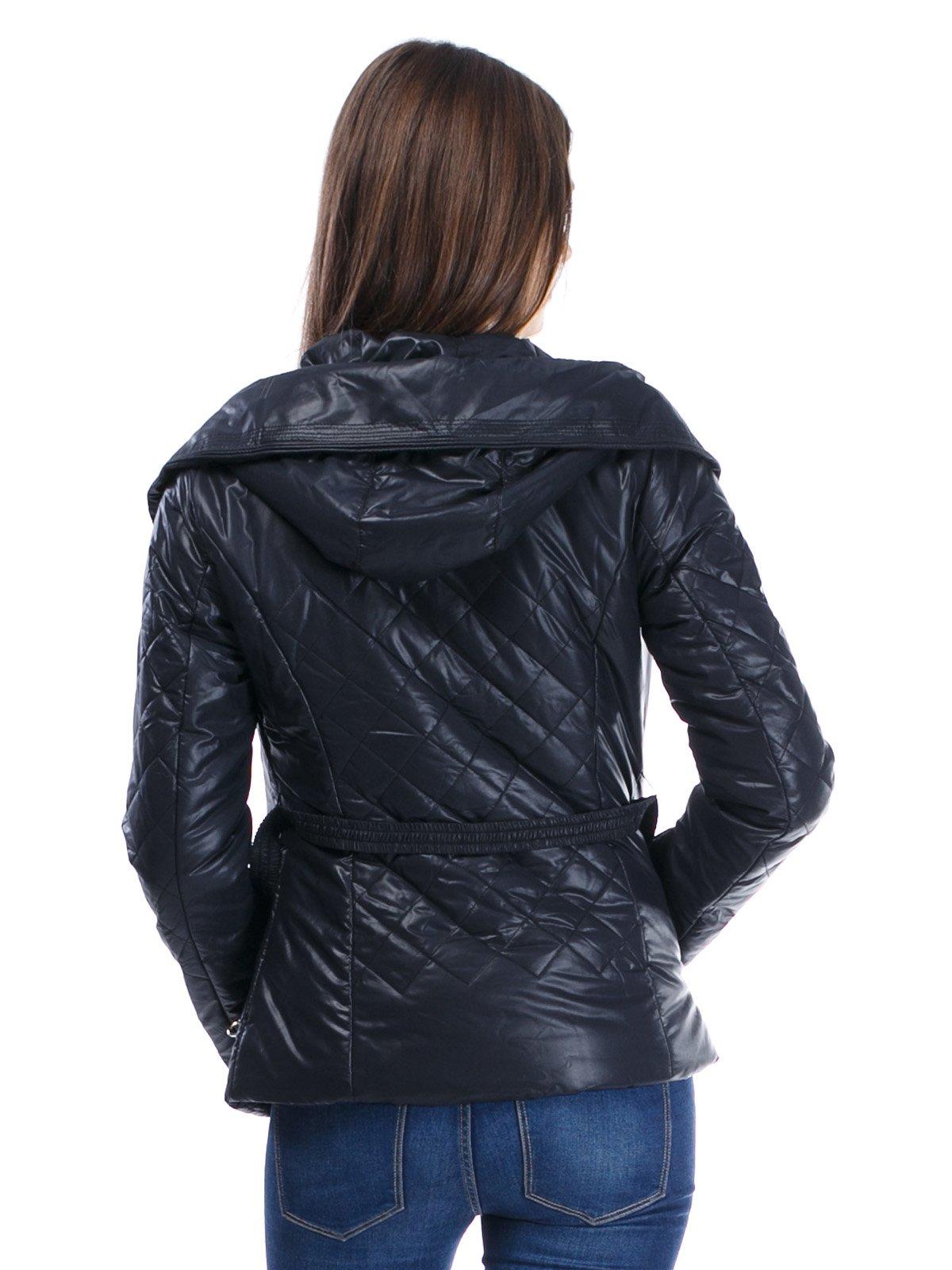 Куртка черная стеганая | 1335708 | фото 3