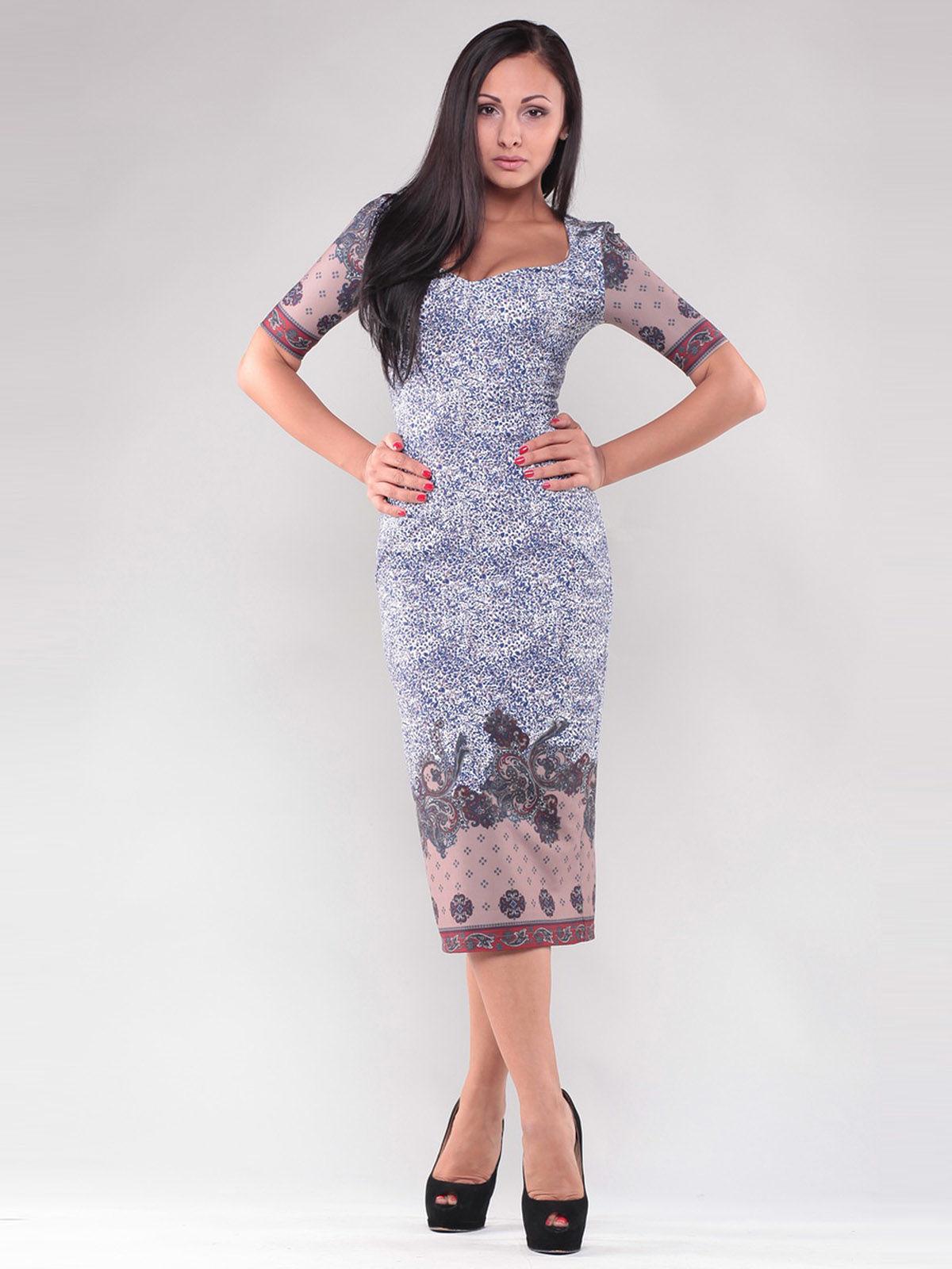 Платье в принт | 1329487